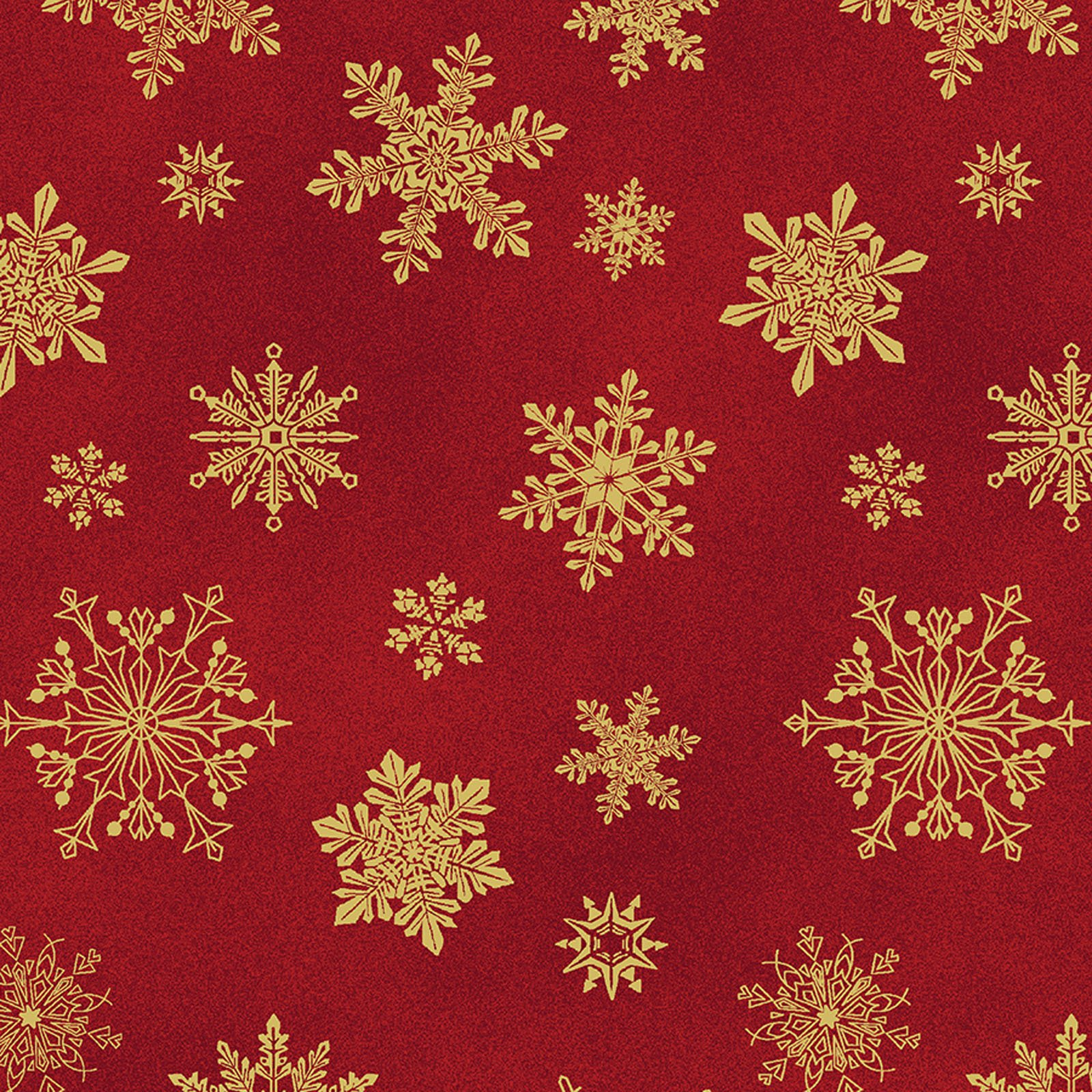 Playful Flakes Red<br/>Benartex 6747M-10