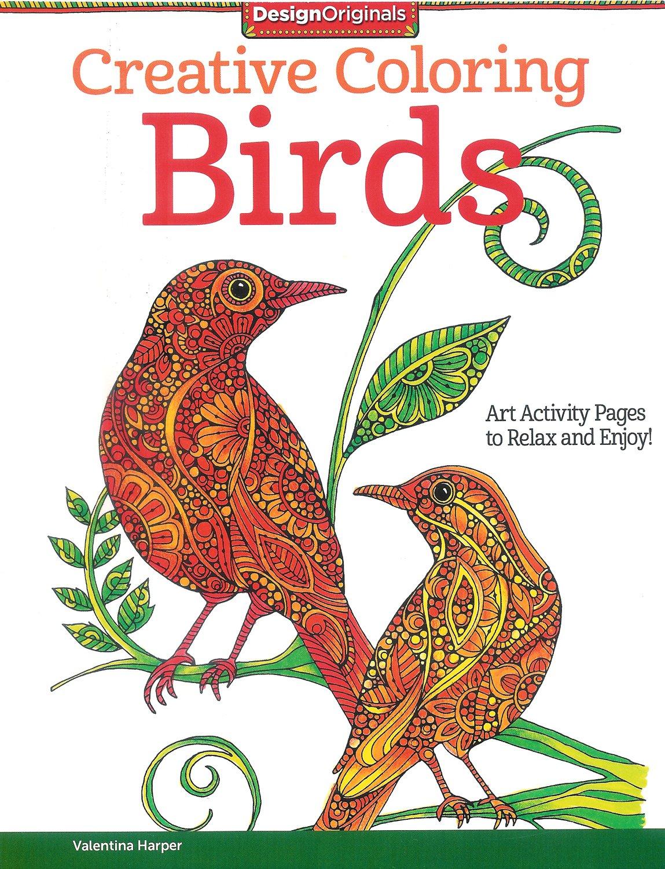 Creative Coloring - Birds<br/>Valentina Harper