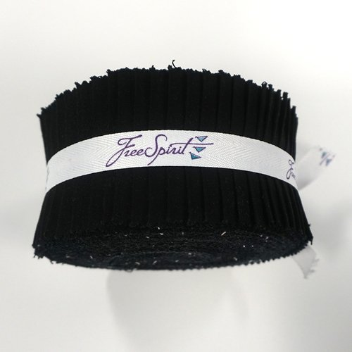 Strips - Essentials Solids Black<br/>FreeSpirit
