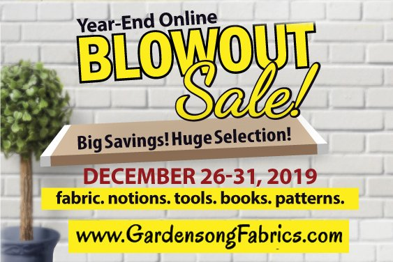 Year-end Blowout Sale