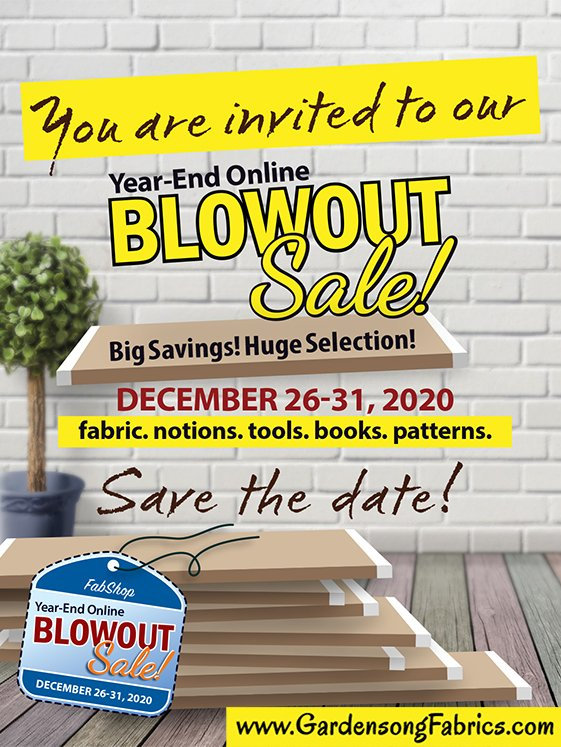 Year End Blowout Sale