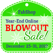 FabShop Blowout