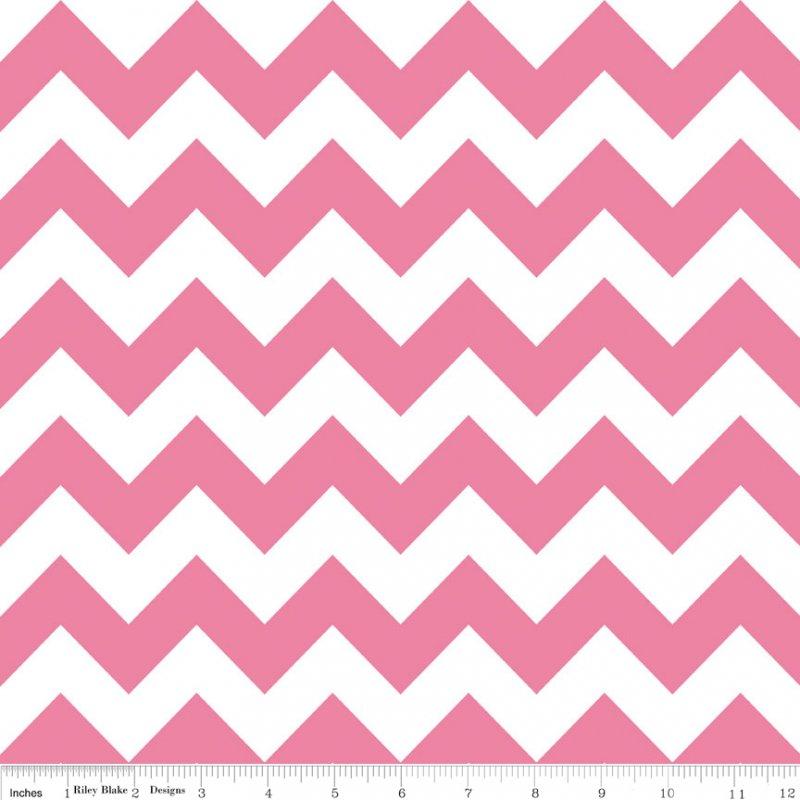 Chevron Hot Pink Medium<br/>Riley Blake