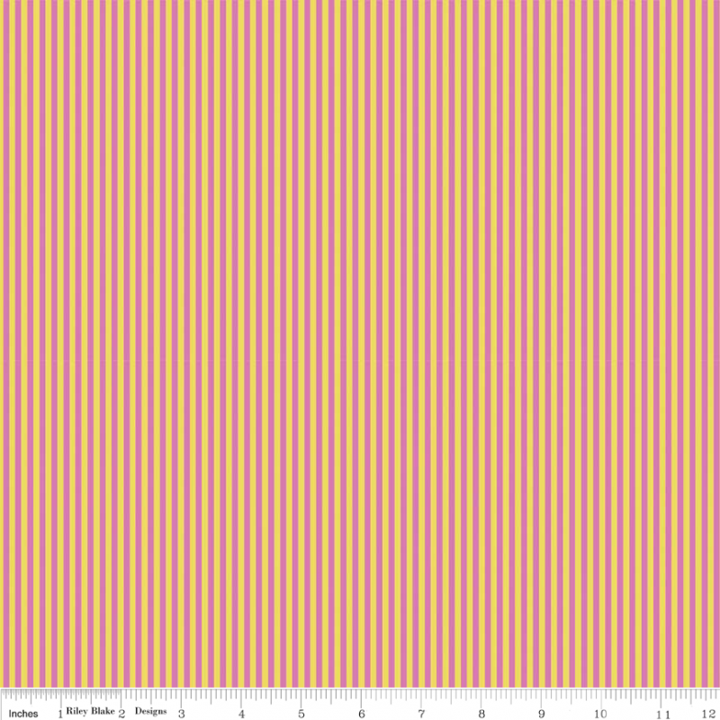 Splendor Stripe - Pink<br/>Riley Blake C3916-PINK