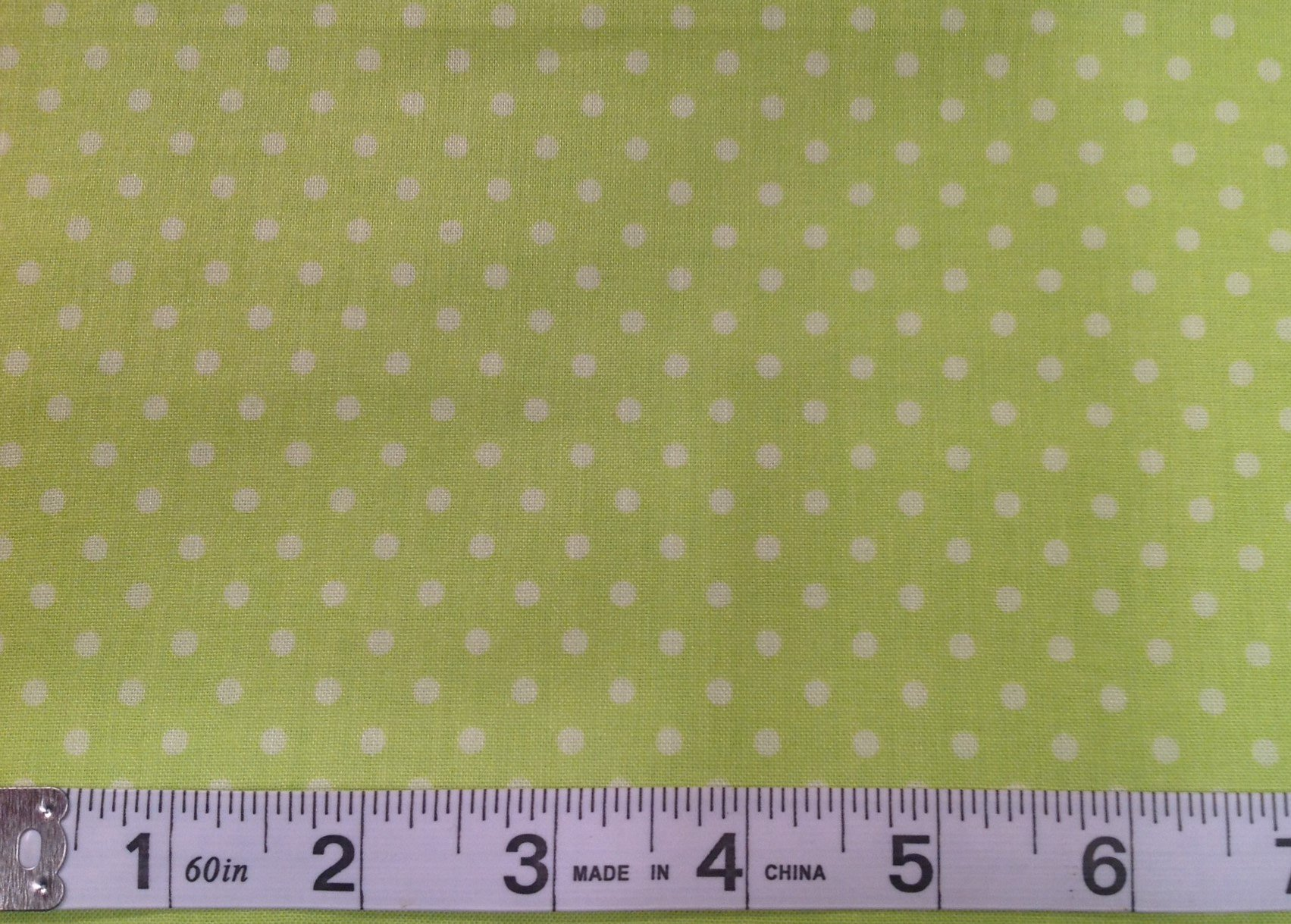 Stitched Garden - Dots Lime<br/>Camelot