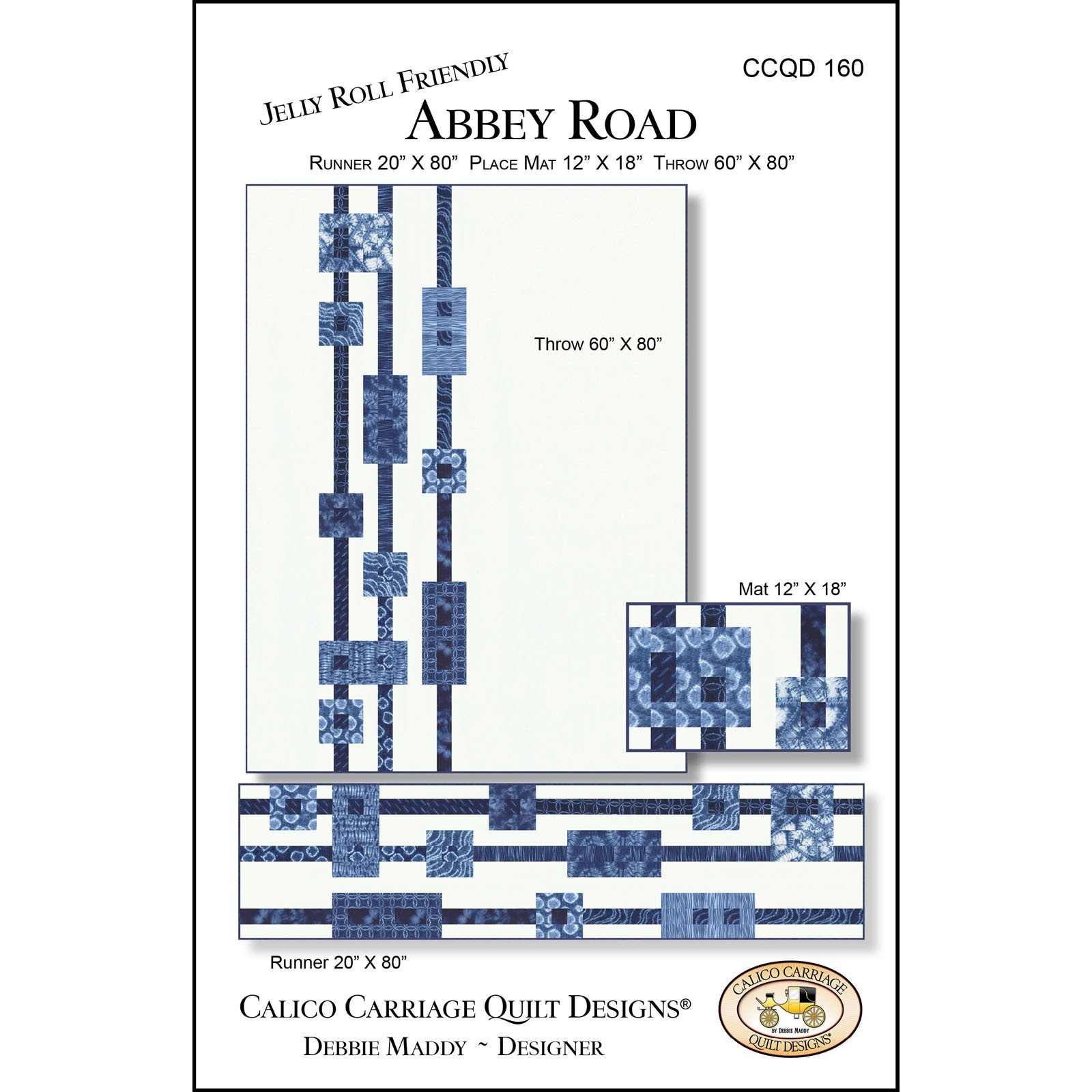 Abbey Road Quilt Calico Carriage Quilt Designs - 714329927169 : calico carriage quilt designs - Adamdwight.com