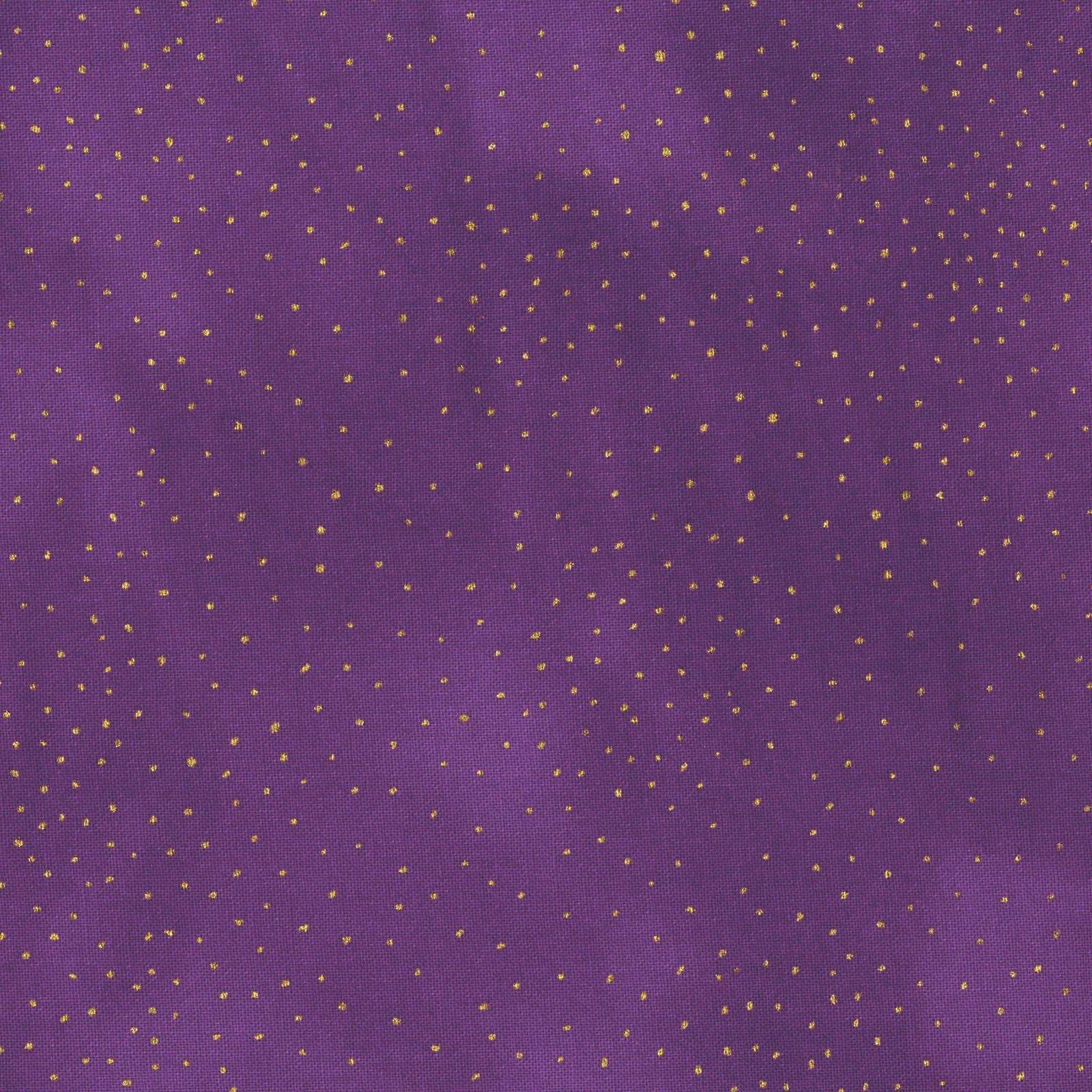 Basic Dot Purple/Gold<br/>Laurel Burch/Clothworks 90330-8M