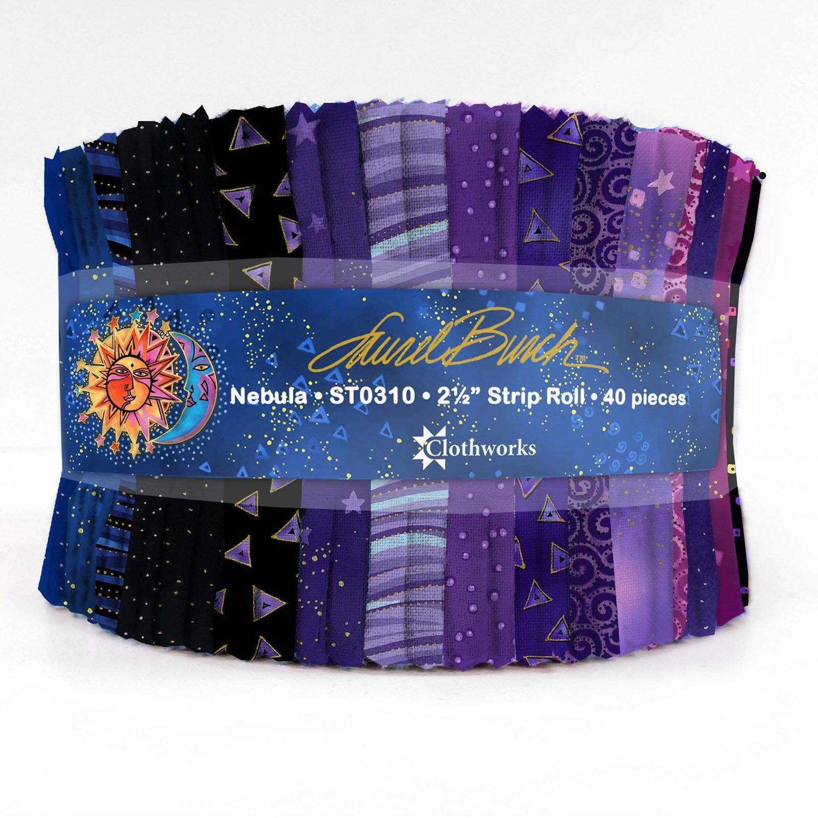 Strips - Nebula<br/>Laurel Burch/Clothworks ST0310