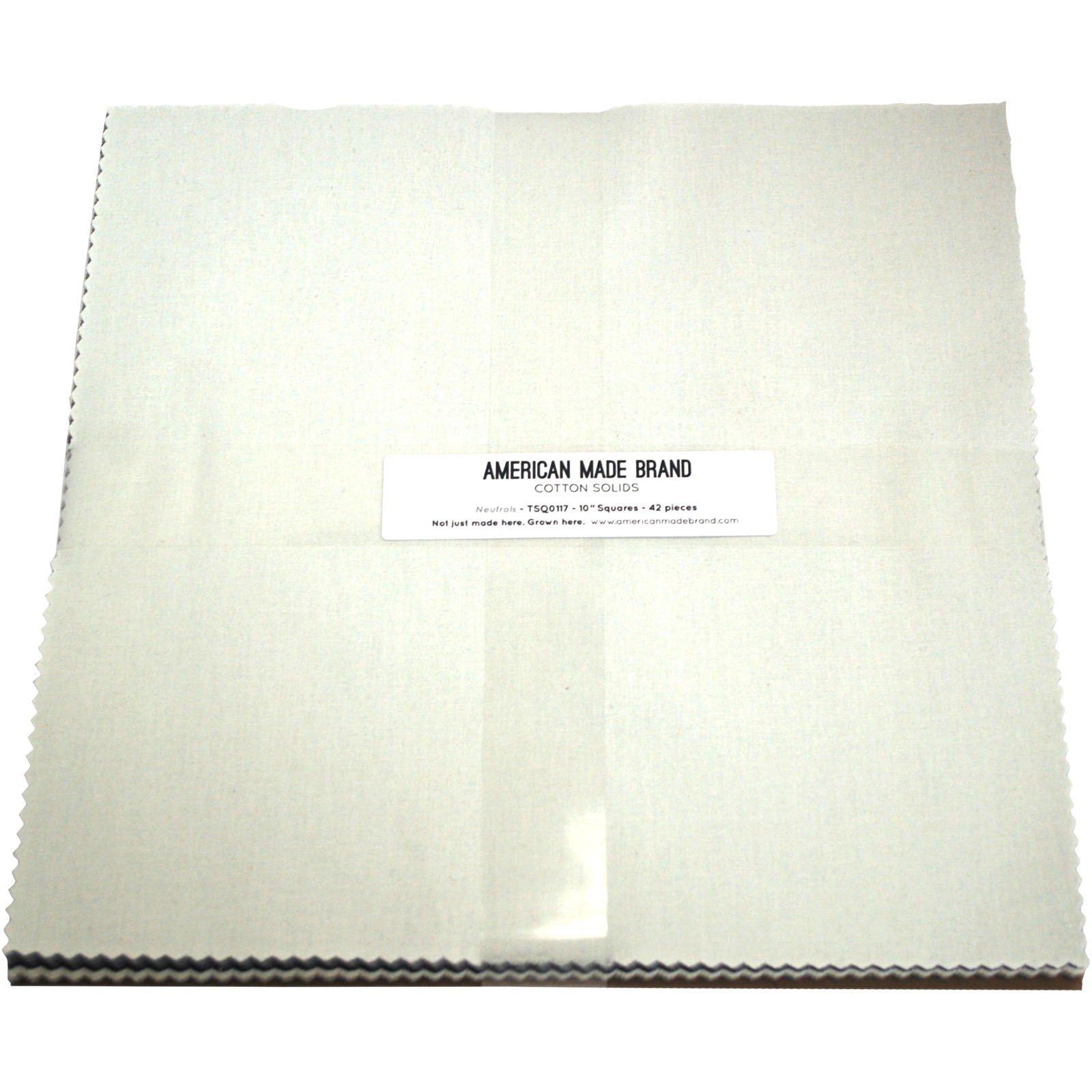 Squares - AMB Solid Neutrals<br/>Clothworks
