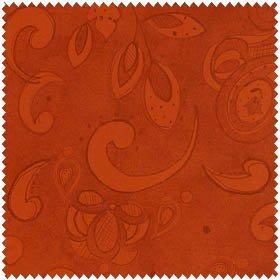 Tangier - Swirls Brick<br/>Clothworks 1358-51