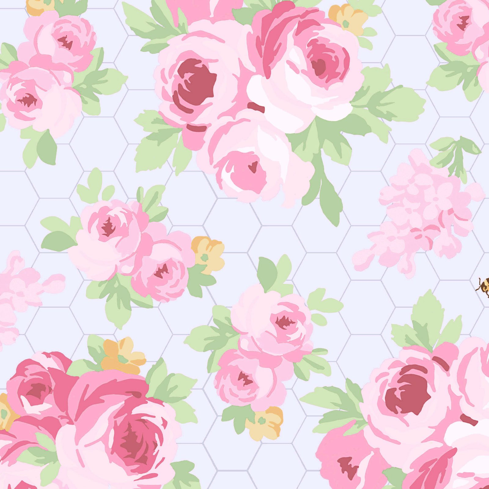 Fidelia Roses - Pale Blue<br/>Clothwork 2076-26