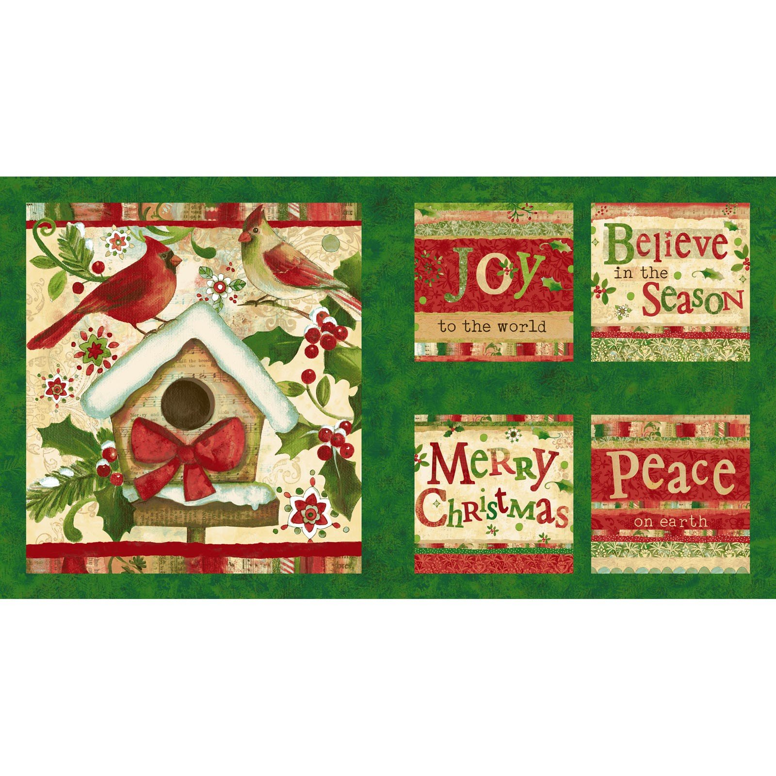 Believe In The Season Panel<br/>Clothworks 2161-113