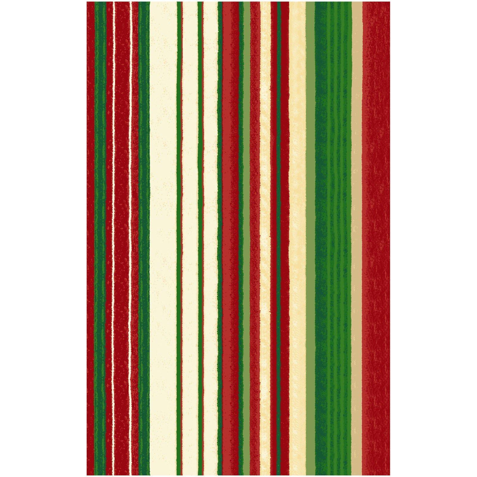 Believe Stripe - Multi FQ<br/>Clothworks 2162-57