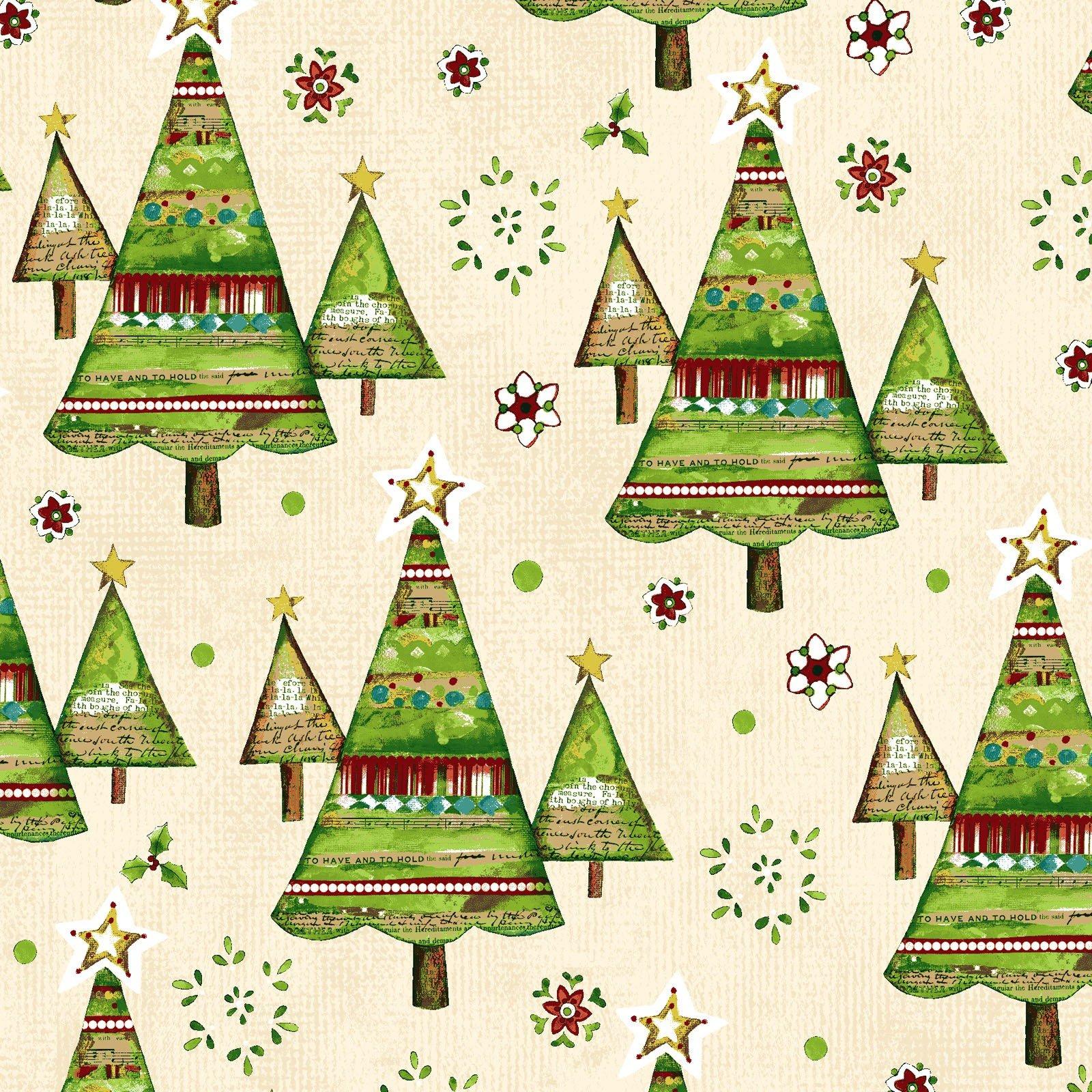 Believe Trees - Cream 2164-57<br/>Clothworks