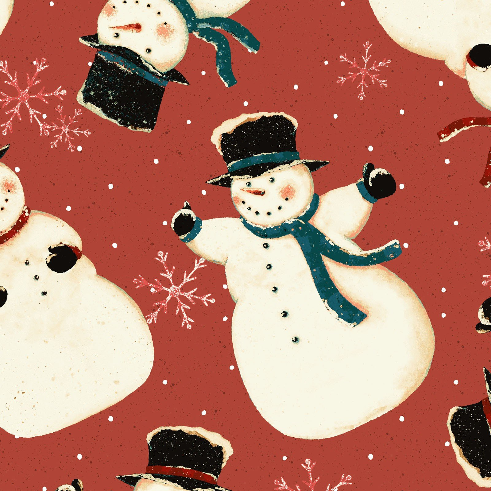 Snow Much Fun Snowmen<br/>Clothworks 2215-82