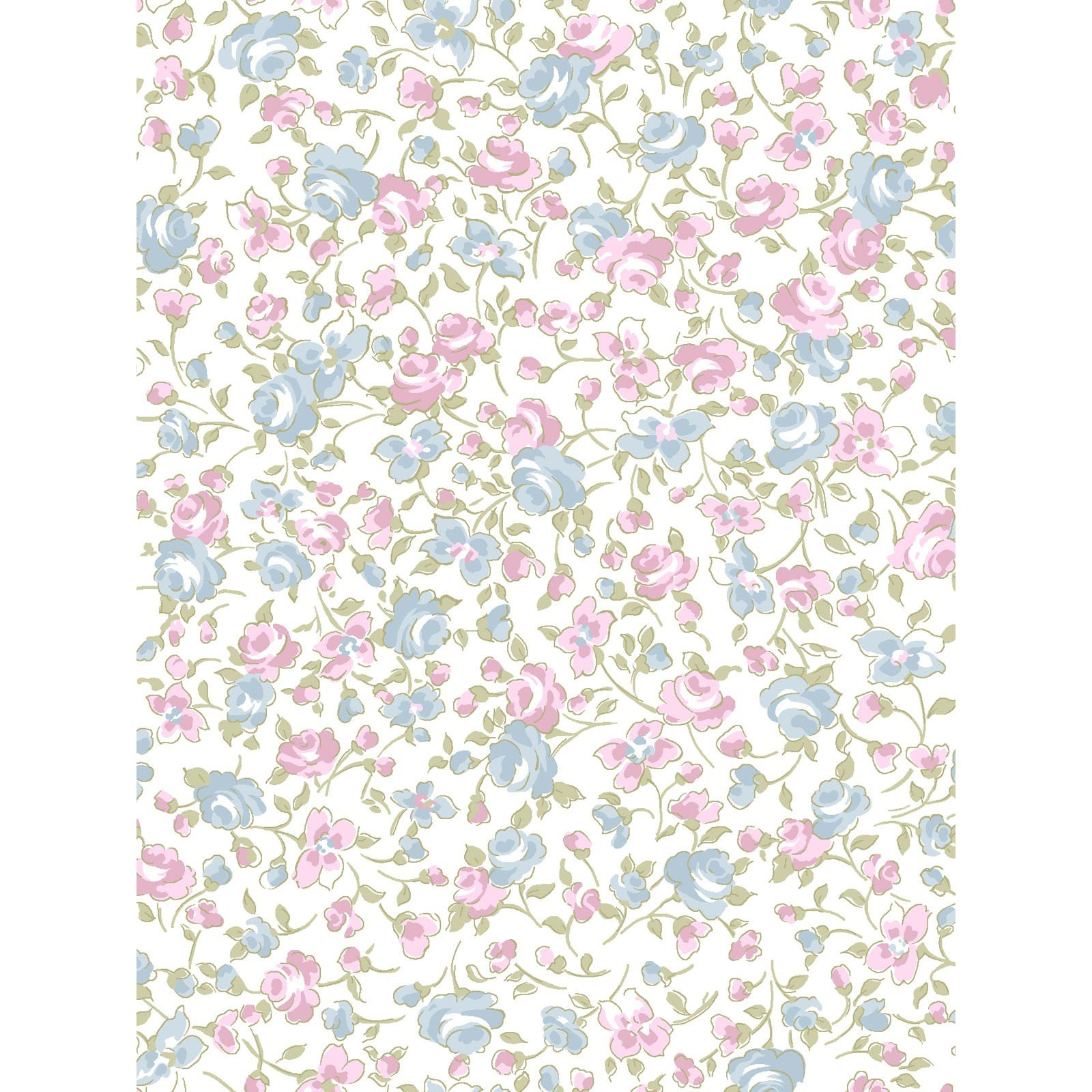 Madeline Small Floral<br/>Clothworks 2286-1