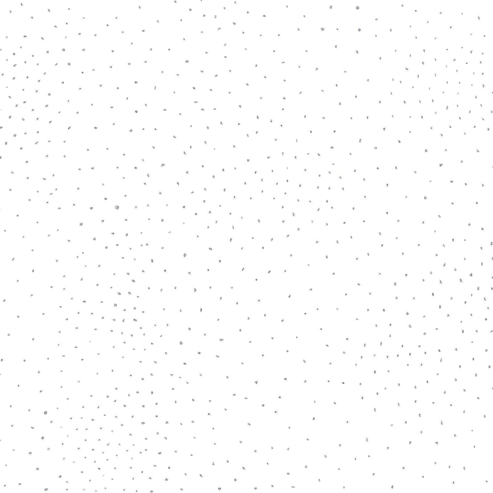 Basic Dot 2 White/Silver<br/>Laurel Burch/Clothworks 2662-1SM