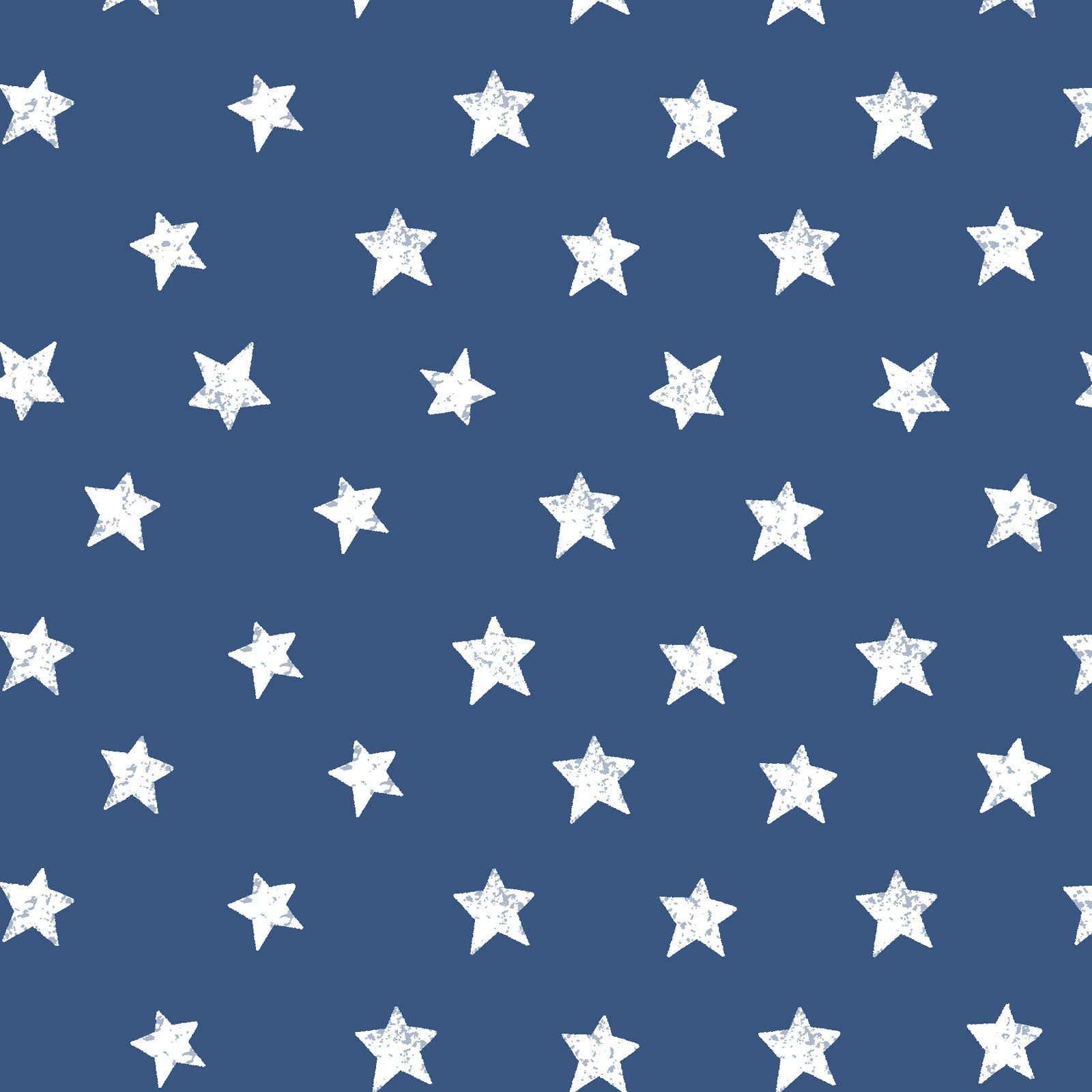 Home Of The Free Stars Blue<br/>Clothworks 2924-31