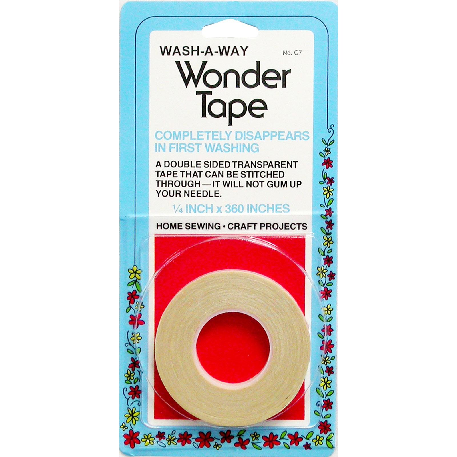 Wash Away Wonder Tape 1/4in<br/>Collins