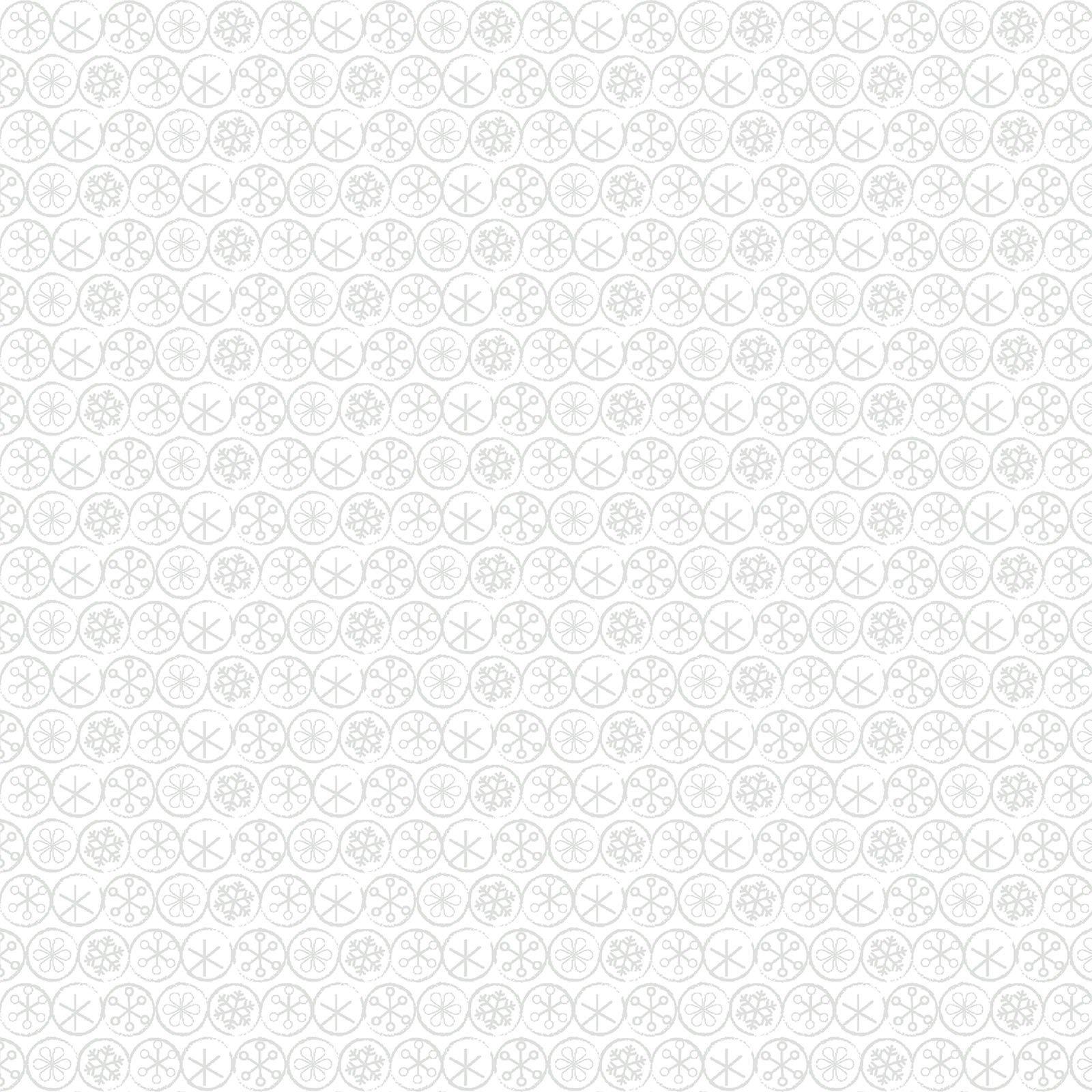 Flake Dot White<br/>Contempo 10328-09