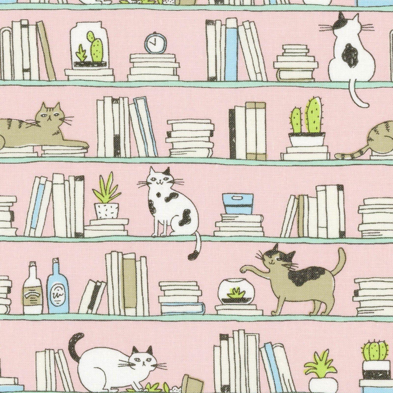 Good Morning Kitties - Pink 65508-2B<br/>Cosmo