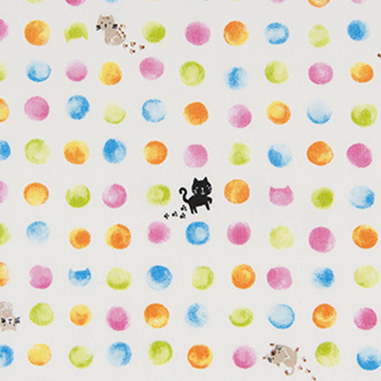 Dotty Cats - Cream<br/>Cosmo 1800-1A