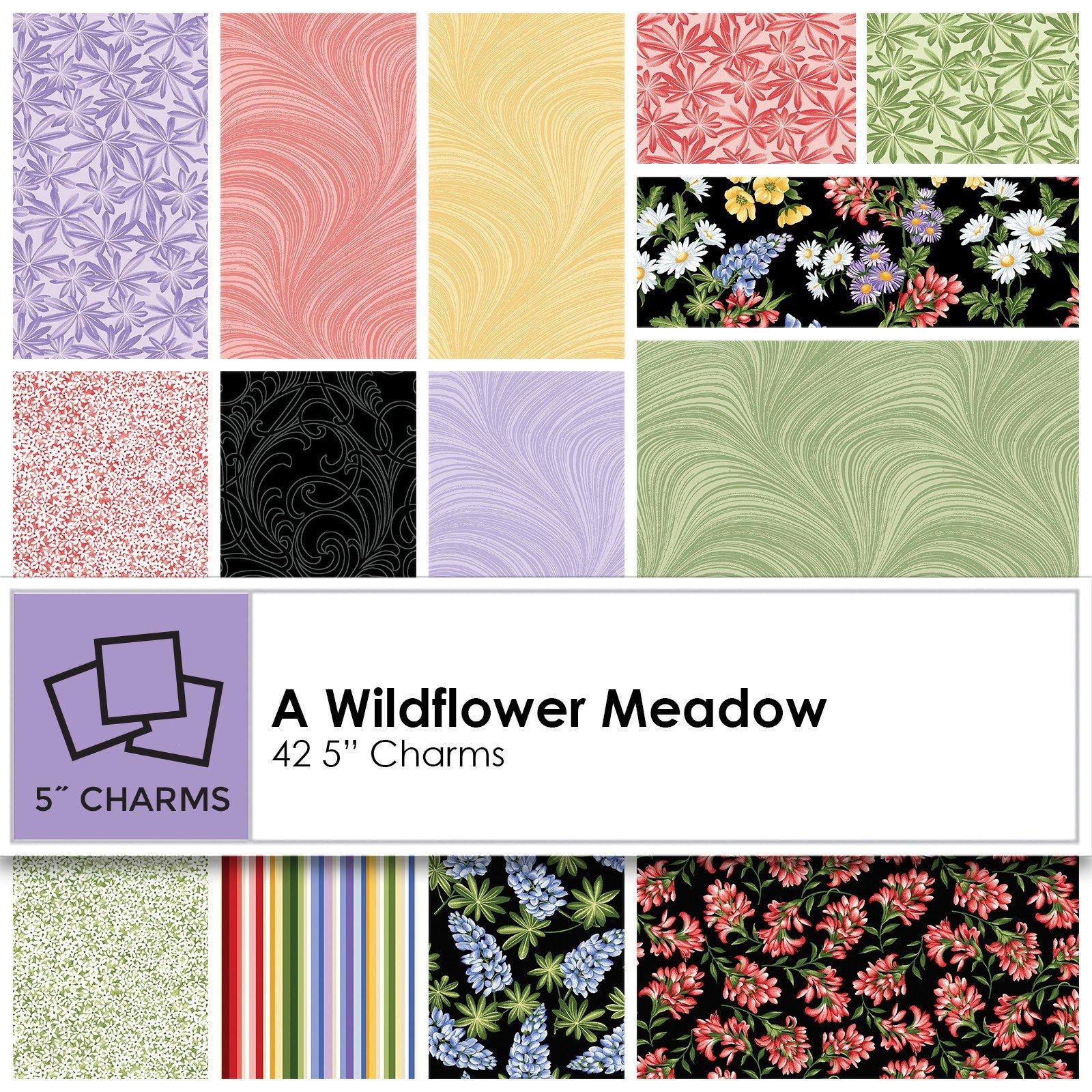 Charm Pack - Wildflower Meadow<br/>Benartex