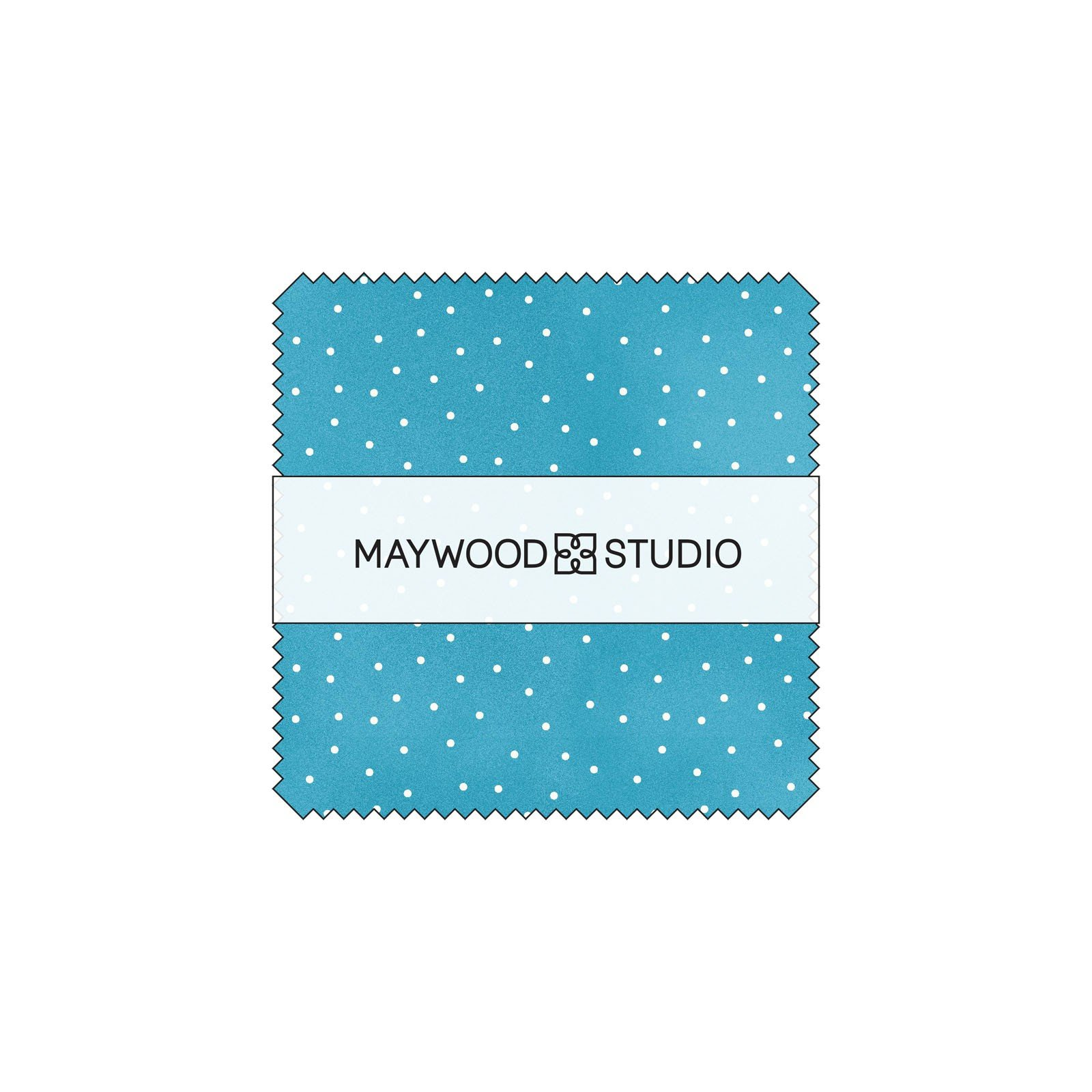 Charm Pack - Scatter Dots<br/>Maywood Studio CP-MAS8119