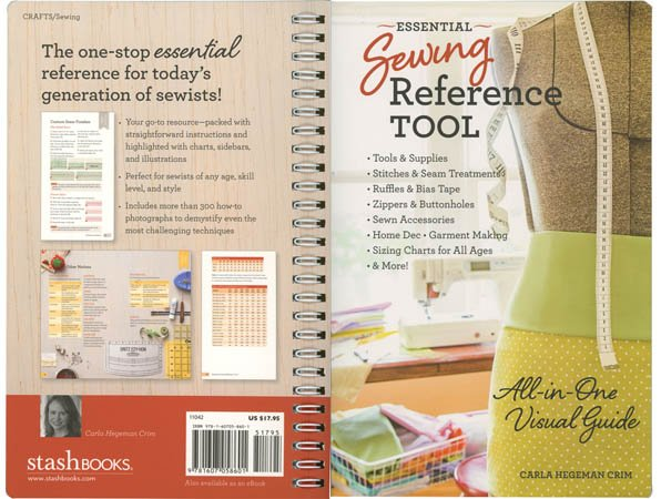 Essential Sewing Reference Tool</br>Carla Hegeman Crim