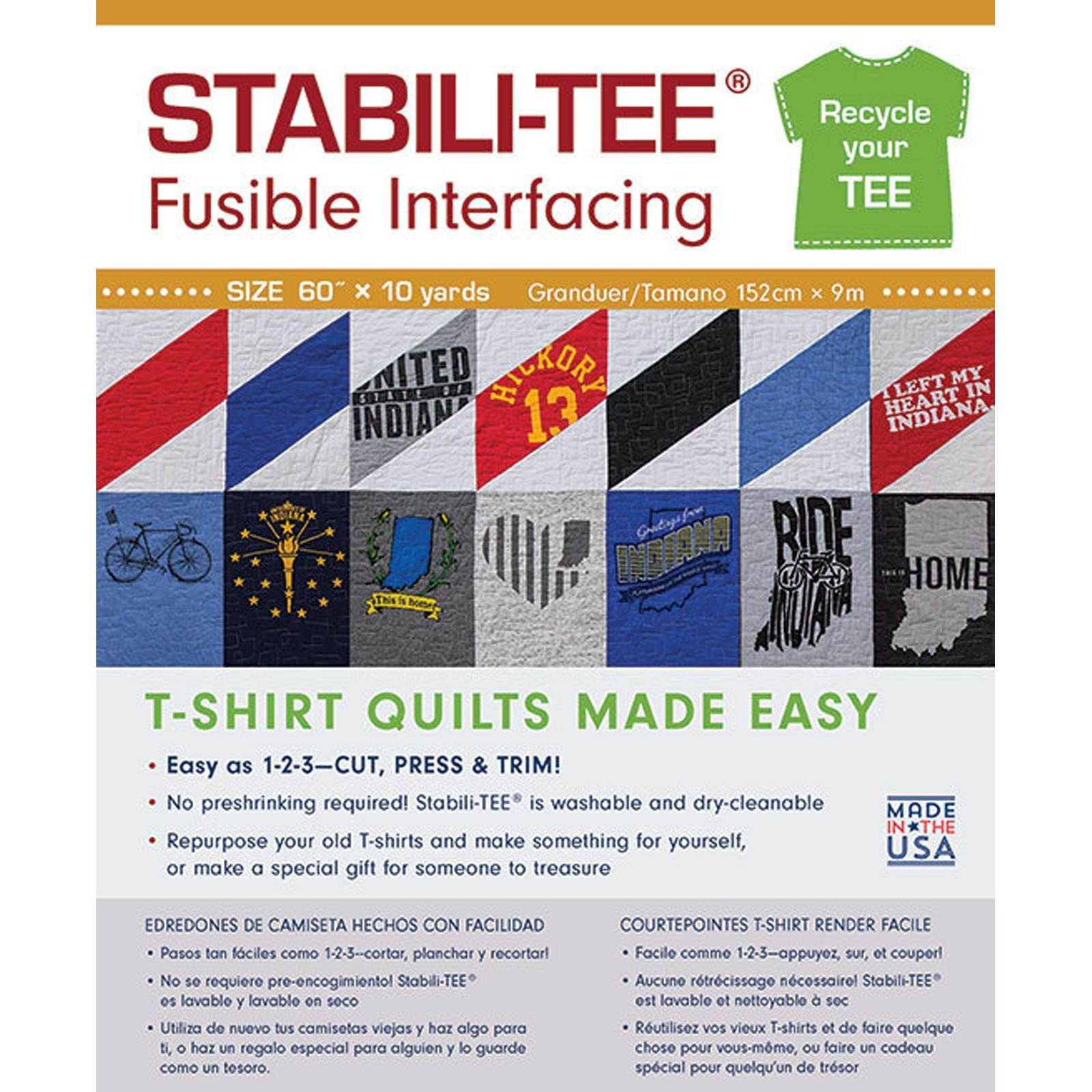 Stabili-Tee Fusible Interfacing<br/>C&T Publishing