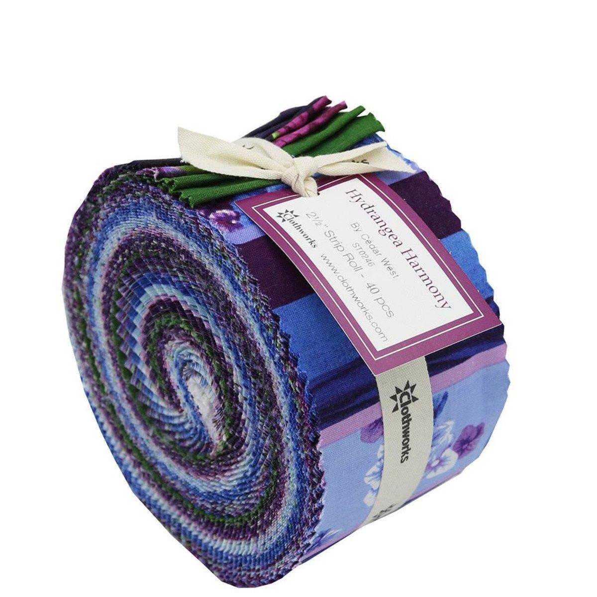 Strips - Hydrangea Harmony<br/>Clothworks