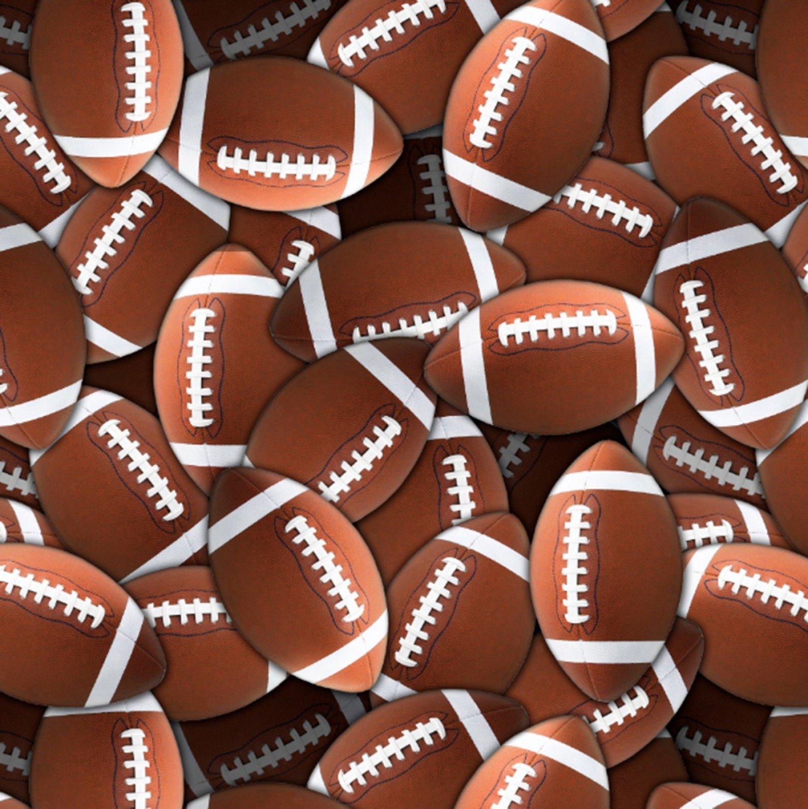 Boy's Den Football Fleece<br/>David Textiles 6192-MA-1