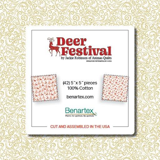 Charm Pack - Deer Festival<br/>Benartex DERF5PK