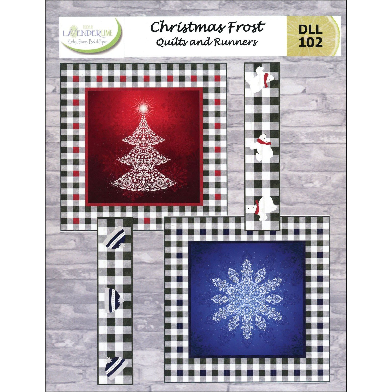 Christmas Frost<br/>Lavender Lime DLL102