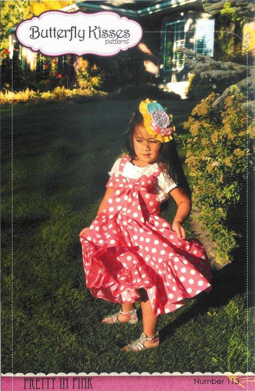 Pretty in Pink Dress<br/>Butterfly Kisses