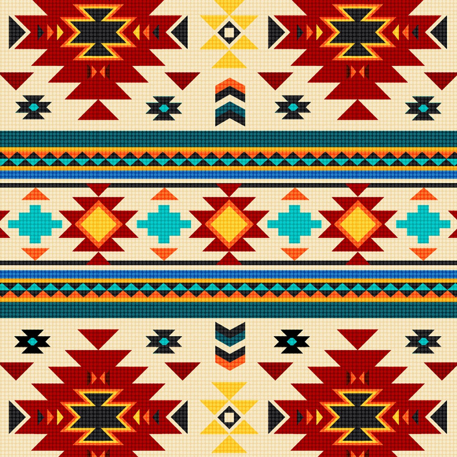 Southwest Sunset<br/>David Textiles 6847-7C-1