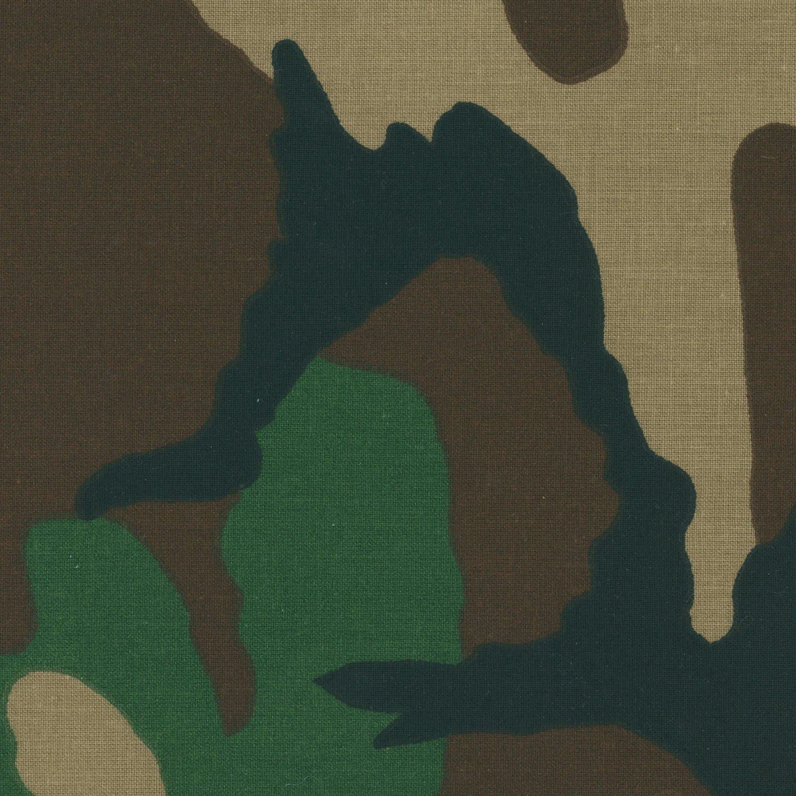 Woodland Camouflage Poplin<br/>EESCAM EESCAM-WOP