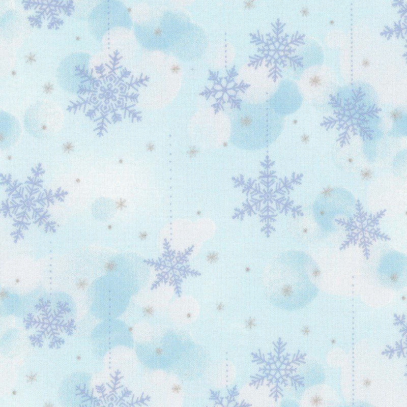 Snowflake Wonder Blue<br/>Elite 12873-A
