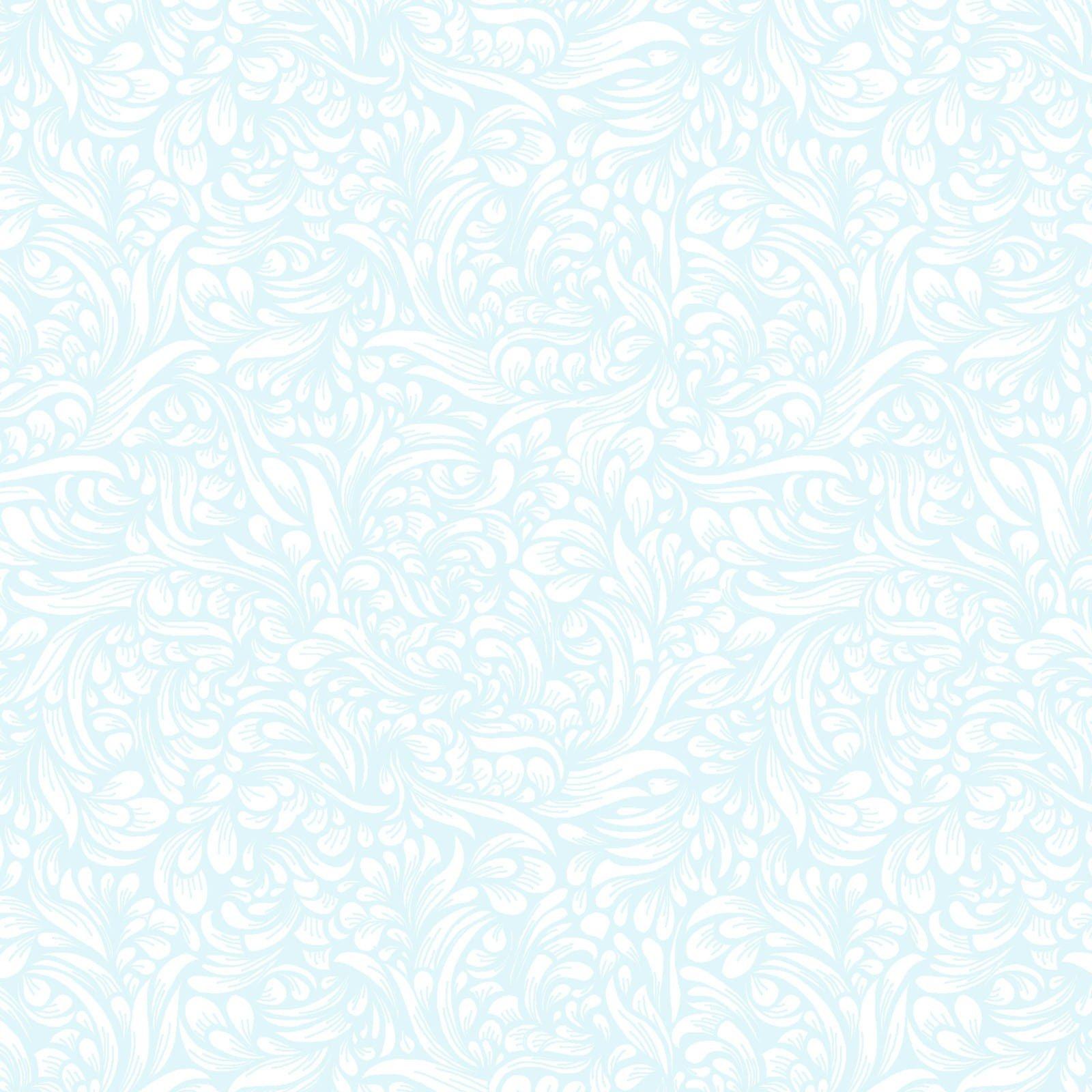 Tonal Scrolls - Sky Blue FQ<br/>Elizabeth's Studio 559-SKB