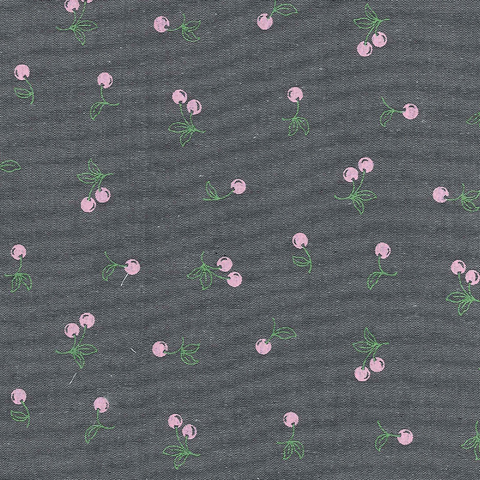 Chambray - Pink Apples<br/>Fabric Traditions 12407-ZCA
