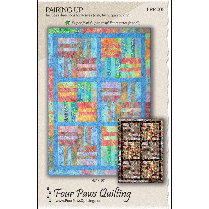 Pairing Up<br/>Four Paws Quilting