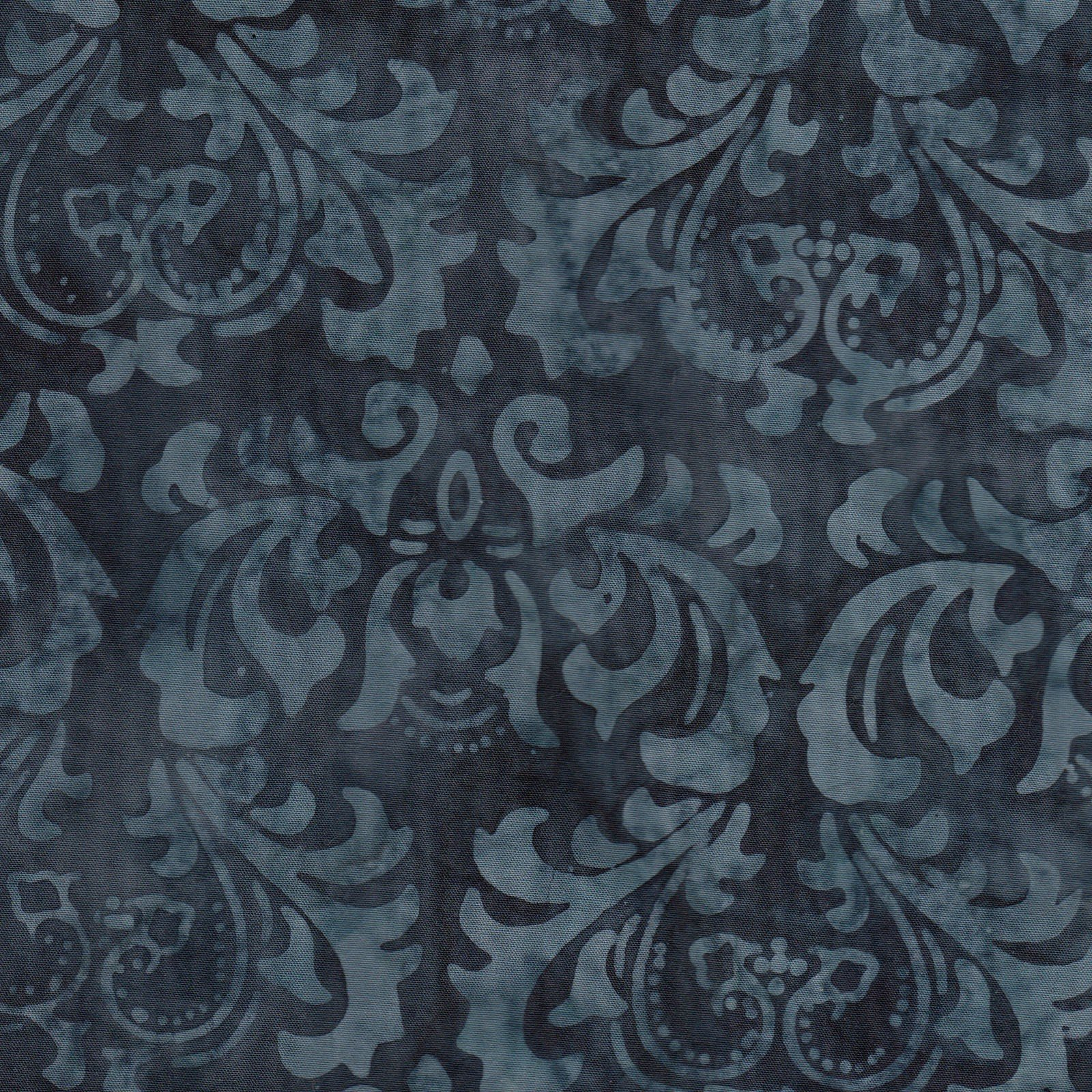 108in Leaves - Iron Gray JQB0005<br/>Fresh Water Designs