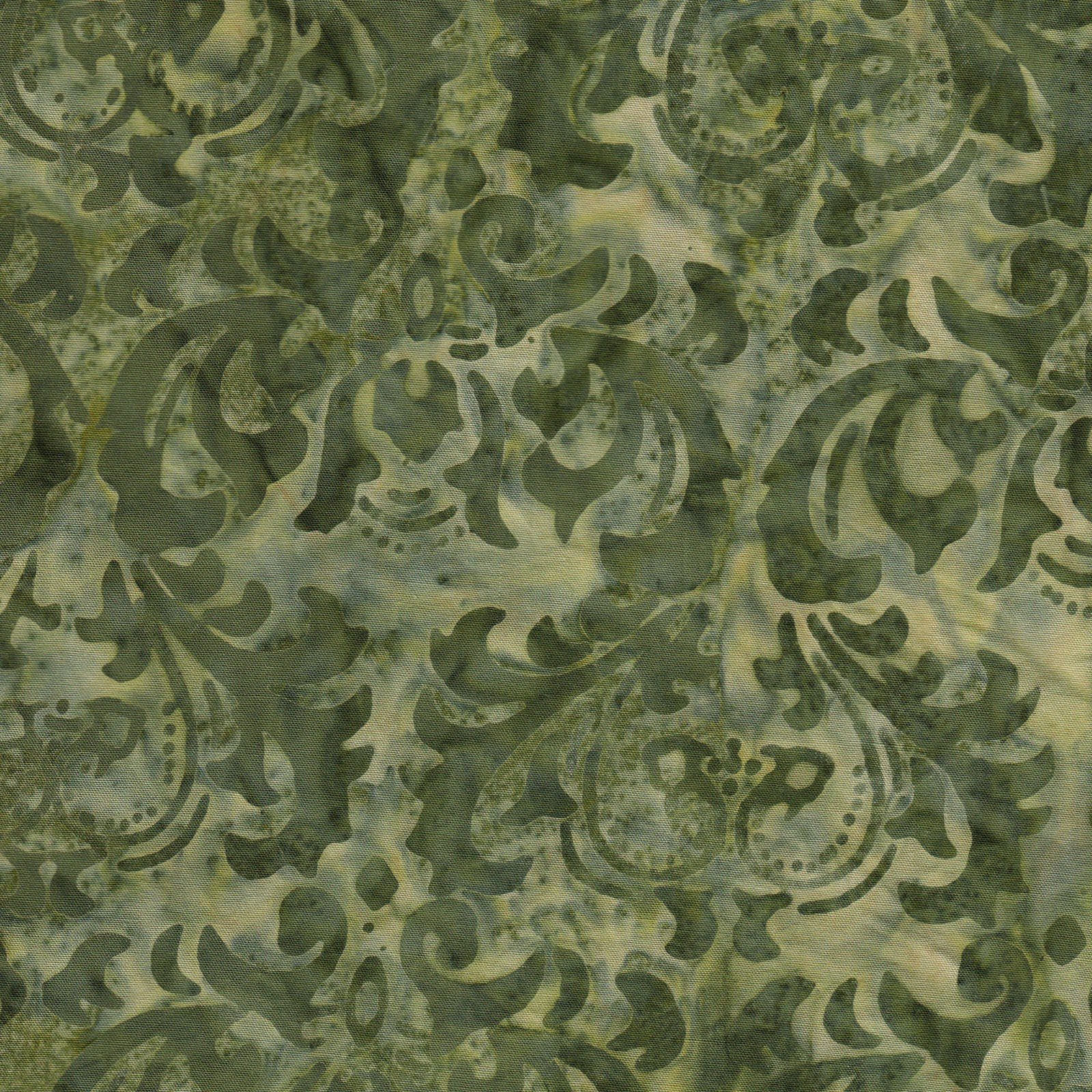 108in Leaves - Olive JQB0006<br/>Fresh Water Designs