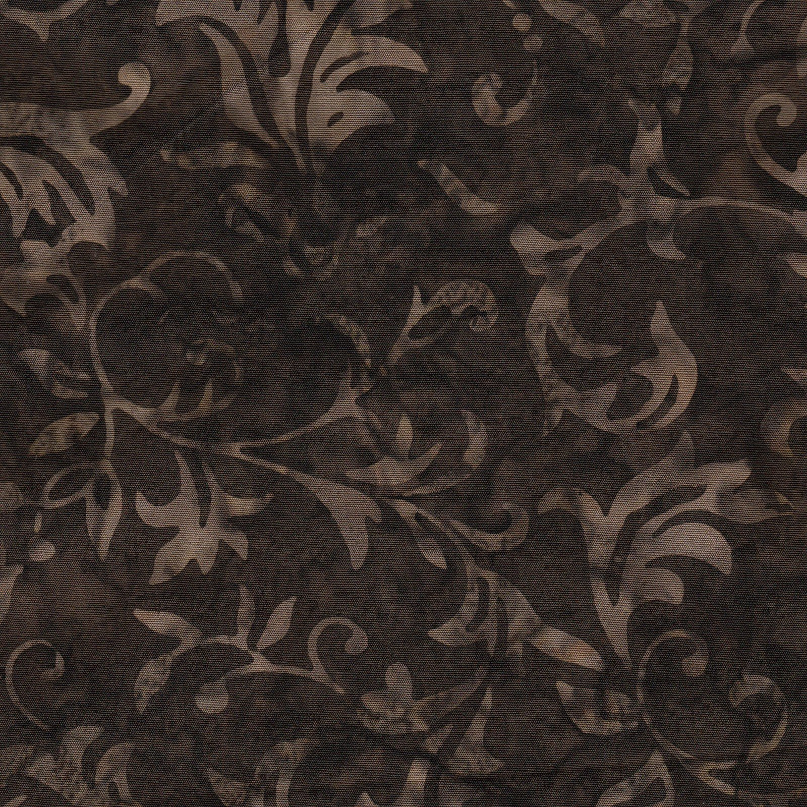 108in Leaves - Dk Brown JQB1010<br/>Fresh Water Designs