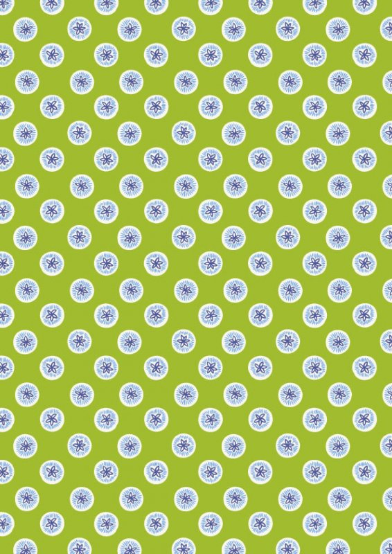 Buttons - Lime<br/>Fabric Freedom