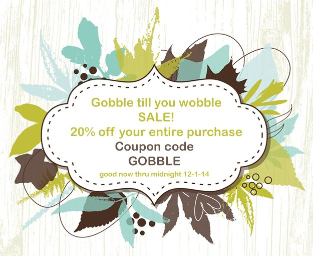 Gobble Sale coupon