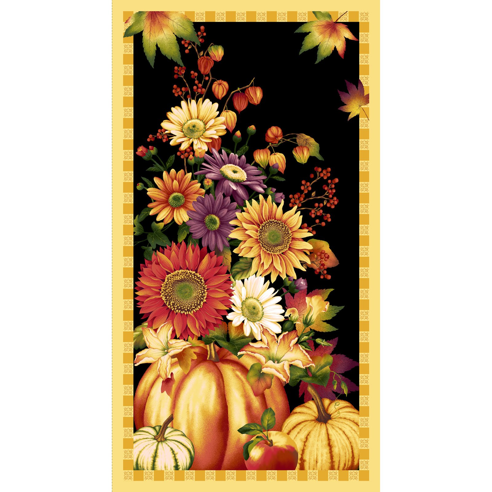 Autumn Time Panel<br/> Henry Glass 2319P-99