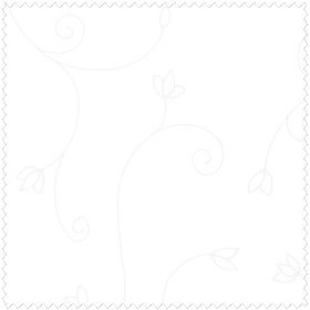 Swirls - White<br/>Henry Glass 6182-01W