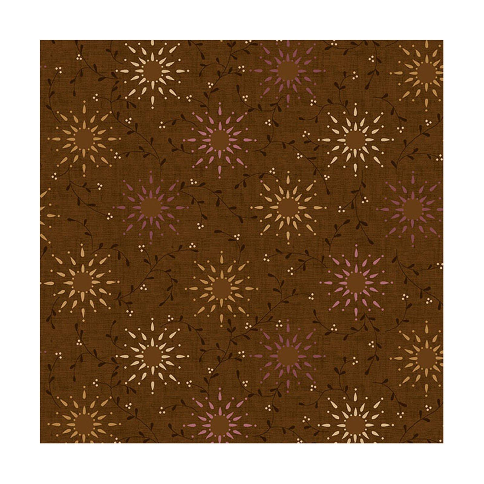 108in Prairie Vine - Dk Brown<br/>Henry Glass 6235-33