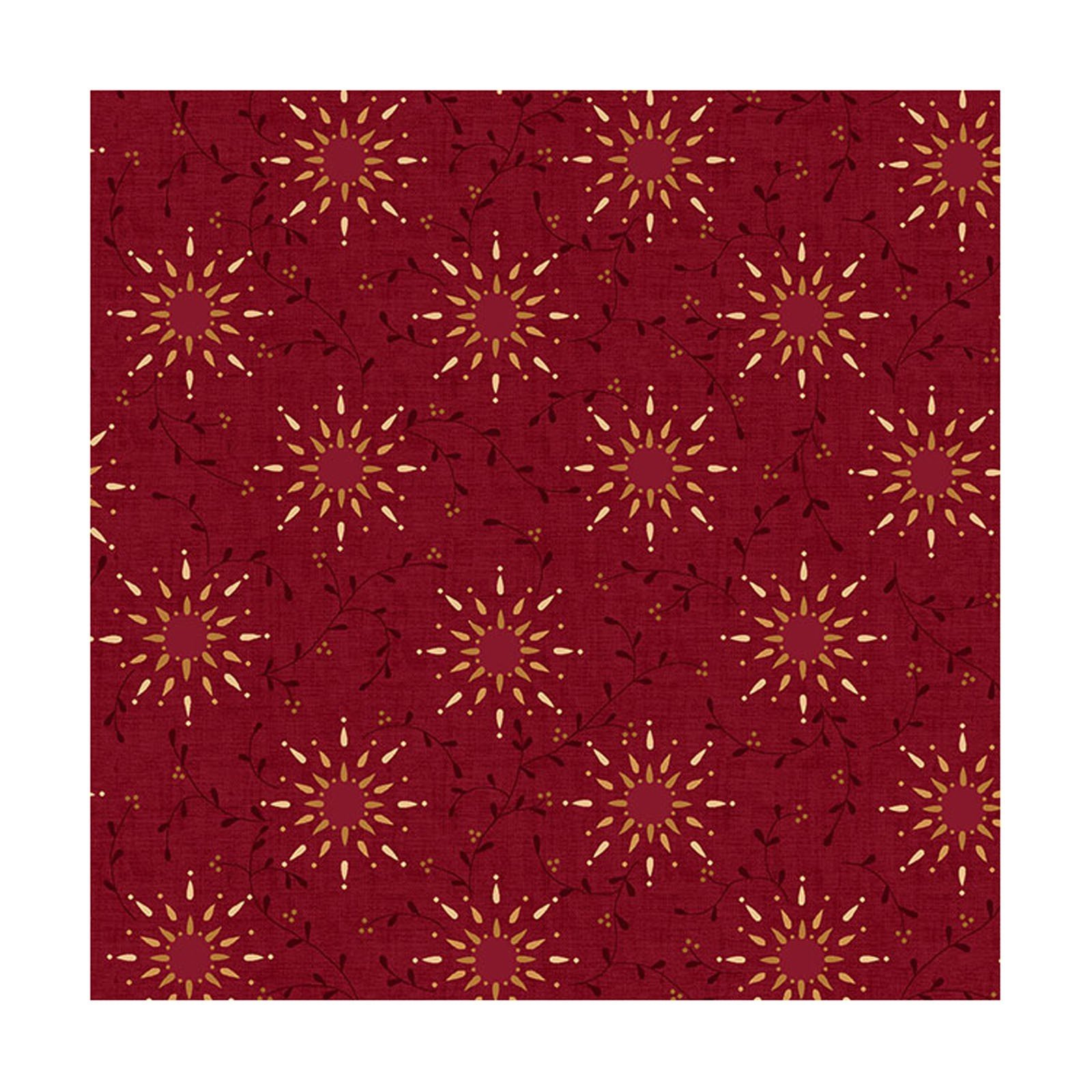 108in Prairie Vine Dk Red<br/>Henry Glass 6235-88
